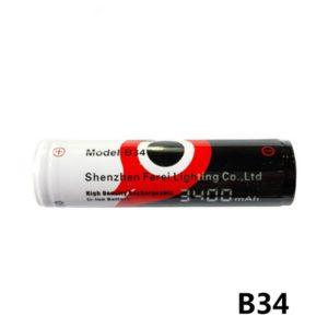 Ferei B34 18650 3400maH accu-0