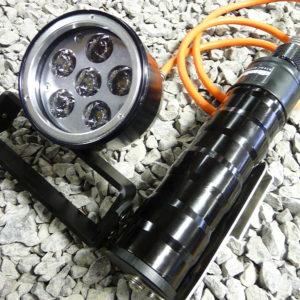 Divelight Tritone 6/8 kabellamp-0